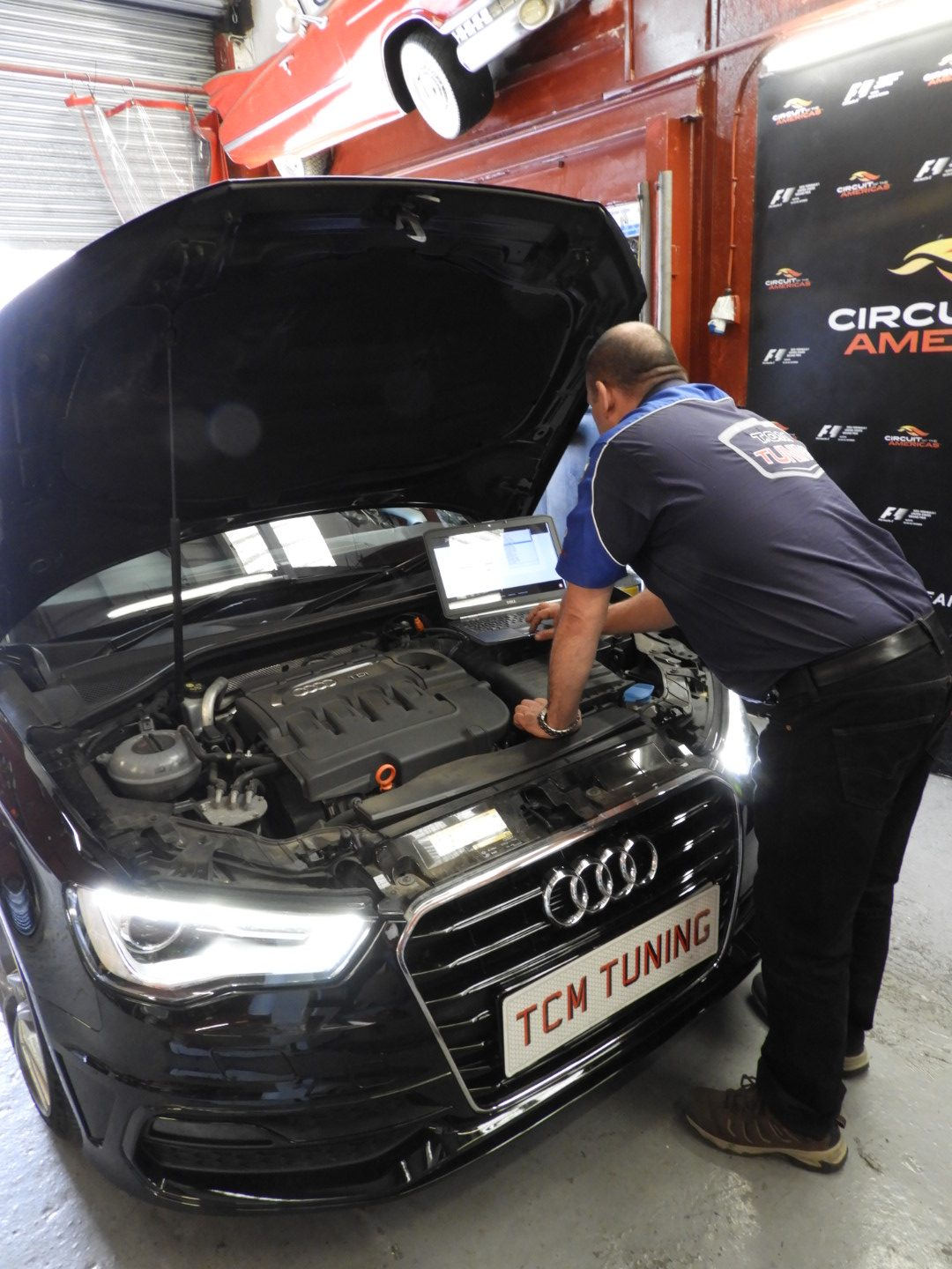 tcm tuning experts doing car diagnostic in brighton